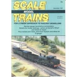 Scale Model Trains 1987 November