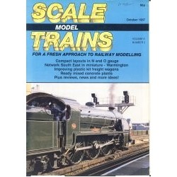 Scale Model Trains 1987 October