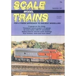 Scale Model Trains 1987 September