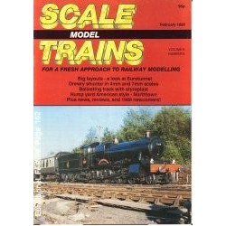 Scale Model Trains 1988 February