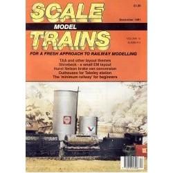Scale Model Trains 1991 December