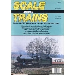 Scale Model Trains 1991 May