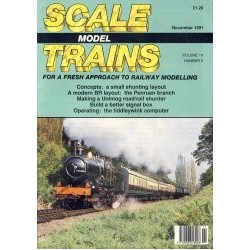 Scale Model Trains 1991 November