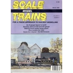 Scale Model Trains 1992 March