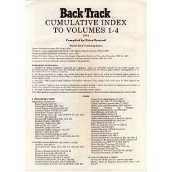 BackTrack Accumulative Index Vol 1 to 4