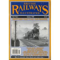 British Railways Illustrated 1998 January