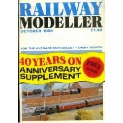Railway Modeller 1989 October