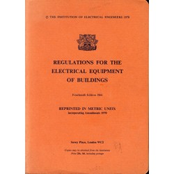 IEE Regulations for Electrical Equipment in Buildings 1966
