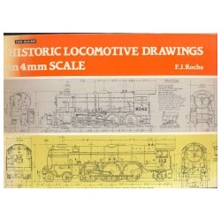 Historic Locomotive Drawings in 4mm Scale