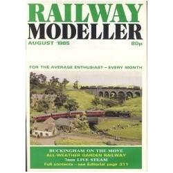 Railway Modeller 1985 August