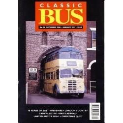 Classic Bus 1996 December/1997 January