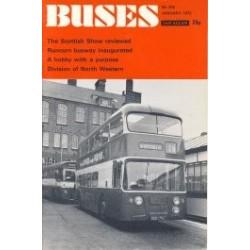 Buses 1972 January