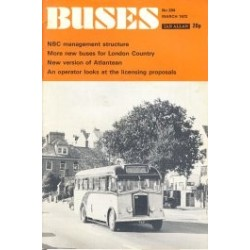 Buses 1972 March