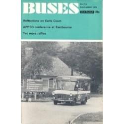 Buses 1972 November