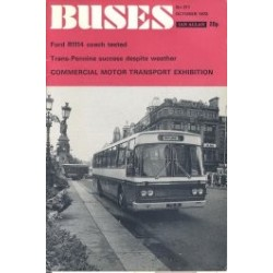 Buses 1972 October