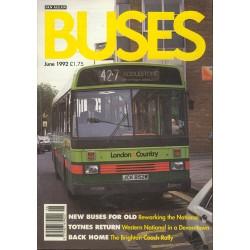 Buses 1992 June