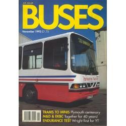 Buses 1992 November