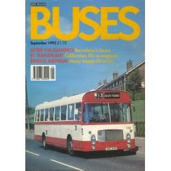 Buses 1992 September