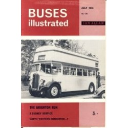 Buses Illustrated 1966 July