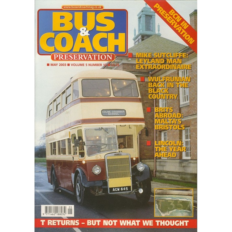 Bus and Coach Preservation 2003 May