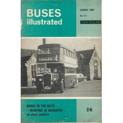 Buses Illustrated 1964 August