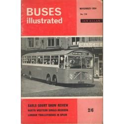 Buses Illustrated 1964 November