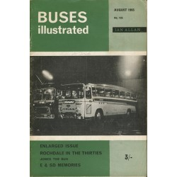 Buses Illustrated 1965 August