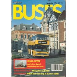 Buses 1994 September