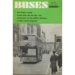 Buses 1969 April