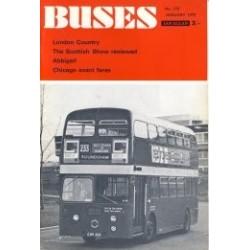 Buses 1970 January