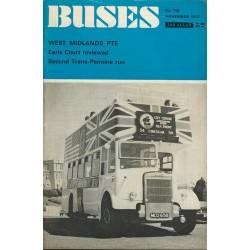 Buses 1970 November