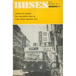 Buses 1971 February