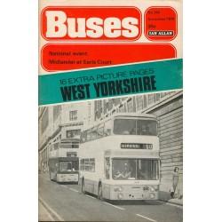 Buses 1976 November