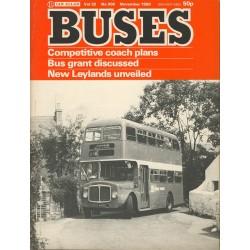 Buses 1980 November