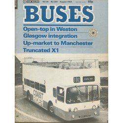 Buses 1982 August