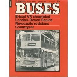 Buses 1982 February