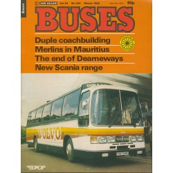 Buses 1982 March