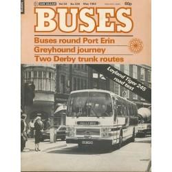 Buses 1982 May