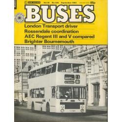 Buses 1982 September