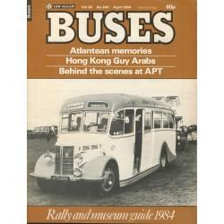 Buses 1984 April