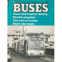 Buses 1984 February
