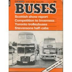 Buses 1984 January