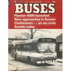 Buses 1984 March