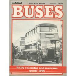 Buses 1986 April