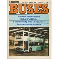 Buses 1986 February