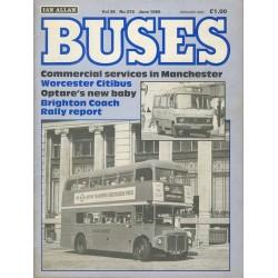 Buses 1986 June
