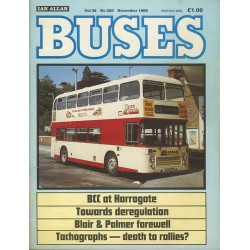Buses 1986 November