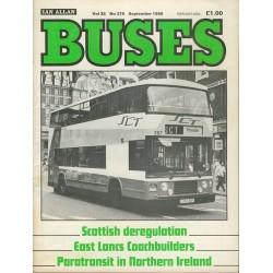 Buses 1986 September