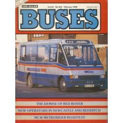 Buses 1988 February