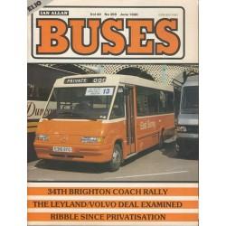 Buses 1988 June